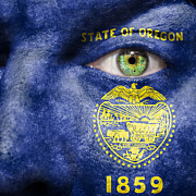State Pride Prints - Go Oregon Print by Semmick Photo