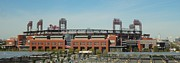 Citizens Bank Park Photo Framed Prints - Go Phils Framed Print by Michael Porchik