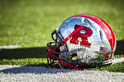 Field Digital Art Originals - Go Rutgers by Eduard Moldoveanu