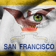 Make-up Posters - Go San Francisco Poster by Semmick Photo