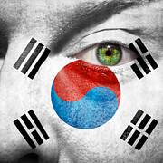 Support Framed Prints - Go South Korea Framed Print by Semmick Photo