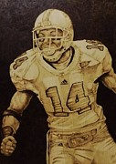 Player Pyrography Originals - Go Vols  by Freddy  Smith