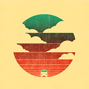 Traveling Prints - Go west Print by Budi Satria Kwan