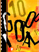 Teen Graffiti Mixed Media - GOAL Gol Soccer Print by Adspice Studios