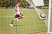 Soccer Sport Prints - Goal Print by Scott Pellegrin