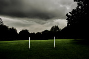 Goalpost Framed Prints - Goalposts Framed Print by Steve Ball