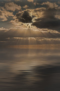 Crepuscular Rays Prints - God at Work Print by Andy Astbury