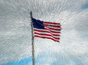 Digital Digital Art - God Bless America by Alys Caviness-Gober