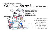 Lord Drawings - God Is Eternal by George Richardson