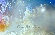 Universe - God Is Love by Sherri  Of Palm Springs