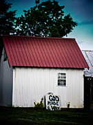 Tin Roof Prints - God Made A Way Print by Jessica Brawley
