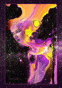 Robert Kernodle Posters - Goddess 2 New Face Of Poster by Robert G Kernodle