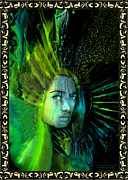Robert Kernodle Posters - Goddess 3 New Face Of Poster by Robert G Kernodle