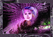 Robert Kernodle Posters - Goddess 4 New Face Of Poster by Robert G Kernodle