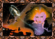 Robert Kernodle Posters - Goddess 5 New Face Of Poster by Robert G Kernodle