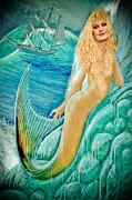 Goddess Atargatis 1000 Bc Print by Gary Keesler