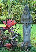 Goddess Bhudevi Mother Earth Print by Karon Melillo DeVega