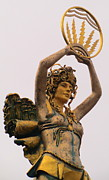 Greek Sculpture Prints - Goddess Detail Print by Randall Weidner
