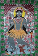 Hindu Goddess Originals - Goddess Kali by Kamini Kumari
