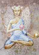 Goddess Of Earth Print by Hege Jasmin Andersen