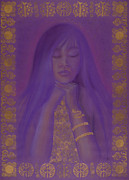 Goddess Birth Art Prints - Goddess of Regeneration Print by Diana Perfect