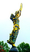 Greek Sculpture Prints - Goddess Sideview Print by Randall Weidner