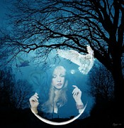Rock N Roll Digital Art - Goddess Stevie Nicks by Craiger Martin
