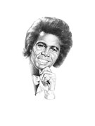 Art Of Soul Music Prints - Godfather Of Soul Print by Gordon Van Dusen