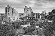 James BO  Insogna - Gods Colorado Garden In Black and White