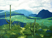 Desert Landscape Art - Gods Country by Anthony Falbo