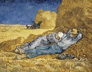 Nederland Posters - Gogh, Vincent Van 1853-1890. Noon, Or Poster by Everett