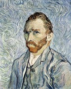 Self-portrait Photo Prints - Gogh, Vincent Van 1853-1890. Self Print by Everett
