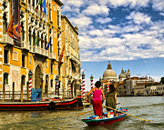 Saint Marks Prints - Going Downtown - Venice Print by Jon Berghoff
