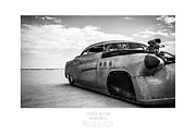 Hot Rod Photography Posters - Going To Impound- Rocket Heads Racing Poster by Holly Martin