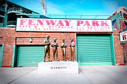 Fenway Park Prints - Going to The Park Print by Greg Fortier