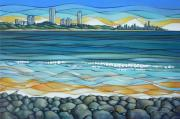 Large Prints - Gold Coast 180810 Print by Selena Boron