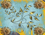 Anke Wheeler - Gold Leaf Tapestry