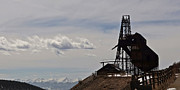 Gold Mine Photos - Gold Mine Victor Colorado by Ernie Echols