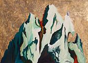 Gold Mountain Print by Joseph Demaree