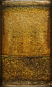 Collectibles Mixed Media - Gold Panel 01 by Li   van Saathoff