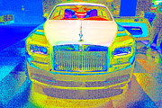 Rolls Royce Digital Art - Gold Rolls by Dan Hilsenrath