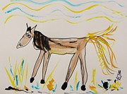 Mary Carol Williams - Gold Tail Horse