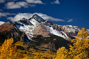 Colorado Mountain Prints Prints - Golden Afternoon Print by Darren  White