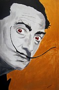 Salvador Dali  Paintings - Golden Age of Dali by Dan Twyman