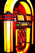 Jukebox Prints - Golden Print by Benjamin Yeager