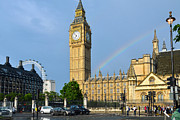 RicardMN Photography - Golden Big Ben clock...