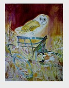 Blossom Hackett - Golden Brown Owls Florist