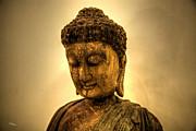 Golden Buddha Print by T Lang