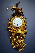 Awesome Photo Originals - Golden clock by Bhanu Mohan