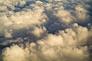 Jet Set Prints - Golden Clouds Print by Tim Hester